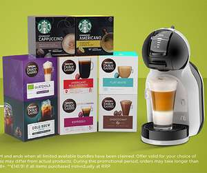 Dolce Gusto Mini Me Coffee Machine + ANY 8 pods - £49.99 at Nescafe Dolce Gusto