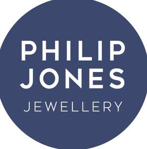 Everything Half Marked Price with code + Free 1st class delivery @ Philip Jones Jewellery