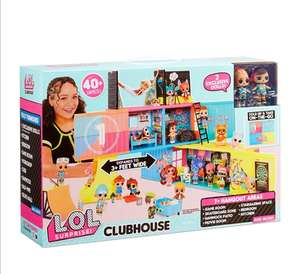 L.O.L. Surprise! Clubhouse Playset - With 40+ Surprises £36.95 at Amazon