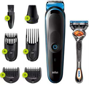 Braun 7in1 Beard Trimmer and Hair Clipper Kit with Gillette Fusion 5 ProGlide Razor (MGK3245) - £23.95 @ MyMemory