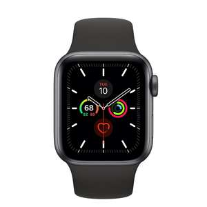 Refurbished Apple Watch Series 5 GPS, 40mm Space Grey Aluminium Case with Black Sport Band 40mm - £289 @ Apple Store