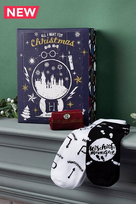 Harry Potter Sock Advent Calendar £24.99 + £4.99 delivery £29.98 @ Studio