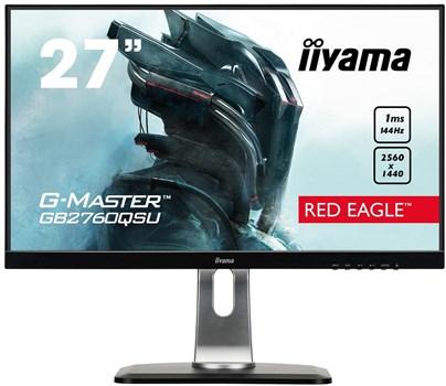 "iiyama G-Master Red Eagle GB2760QSU-B1 27"" WQHD FreeSync 144Hz Gaming Monitor £259.97 @ Box"