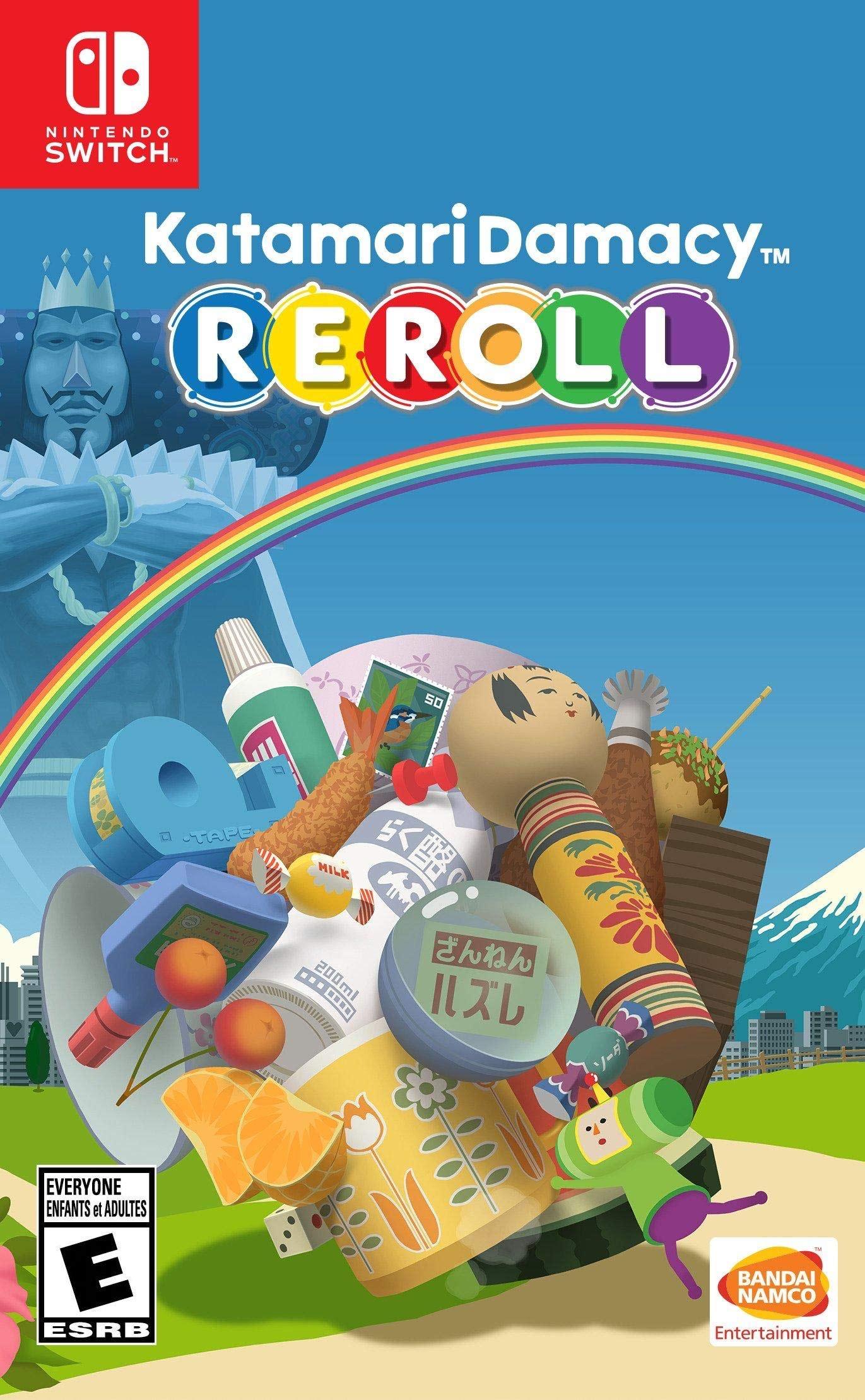 Katamari Demacy Reroll [Nintendo Switch Game] USA Version £21.99 @ Amazon