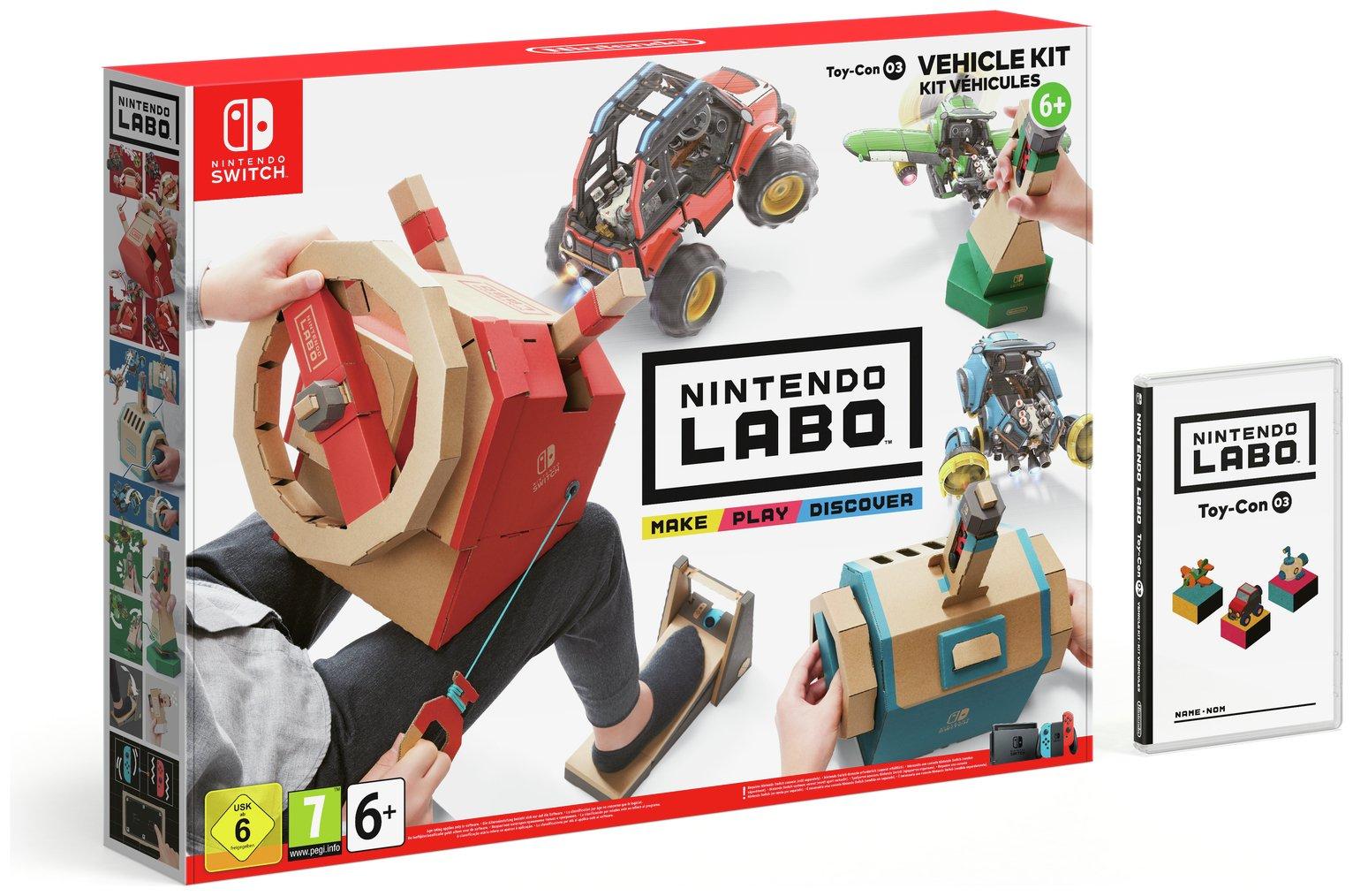 Nintendo LABO Toy-Con 03 Vehicle Kit £28.99 Argos