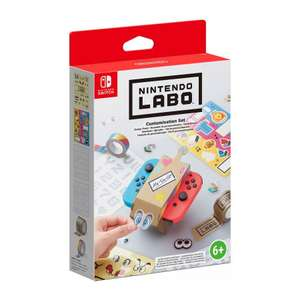 Nintendo Labo Customisation Set (Switch) £3.95 delivered at The Game Collection