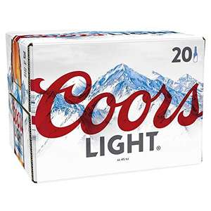 Coors Light Lager 20 x 330 ml Bottles - £11 Amazon Prime / £15.49 Non Prime