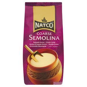 Natco Semolina Coarse 1.5kg - 75p @ Sainsbury's