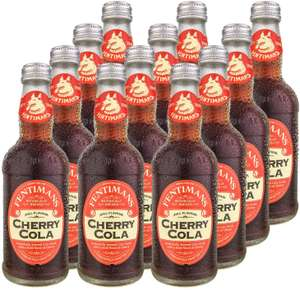 Fentimans Cherry Cola 275ml (Pack of 12) £12 at Amazon Prime / £16.49 Non Prime