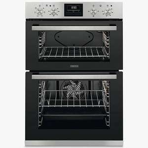 Zanussi ZOD35661XK Built-In Multifunction Electric Double Oven Stainless Steel £379 at John Lewis & Partners