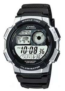 Casio Men's Black Resin Strap Watch £12.99 - Free Click and Collect @ Argos - 2 Year Guarantee