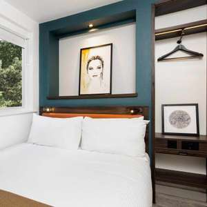 Flash sale book 16/9 only - from £28 a night. Nespresso, Apple TV, air con, power shower etc at The East London Hotel - New luxury