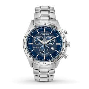 Citizen Eco Drive Mens Brycen Chronograph Stainless Steel Watch £119.99 at Argos (Free collection)
