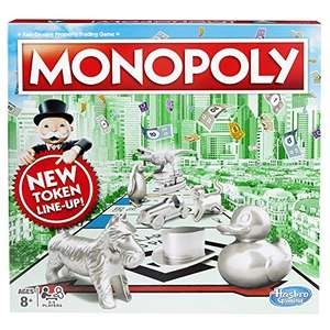 Monopoly Classic Version reduced to £14.66 on Prime / + £4.49 if not @ Amazon
