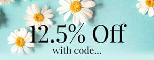 12.5% off @ Gorgeous Shop - site wide