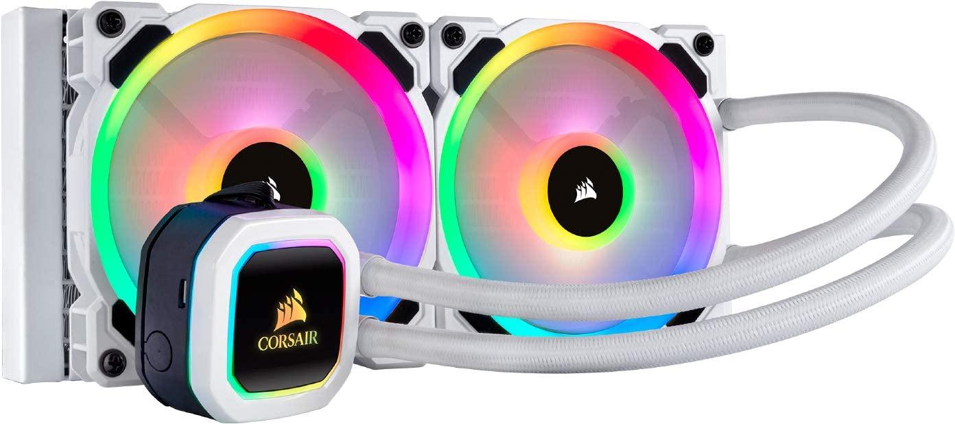 Corsair Hydro 100i RGB Platinum SE, Hydro Series, 240 mm Radiator - £109.99 @ Amazon