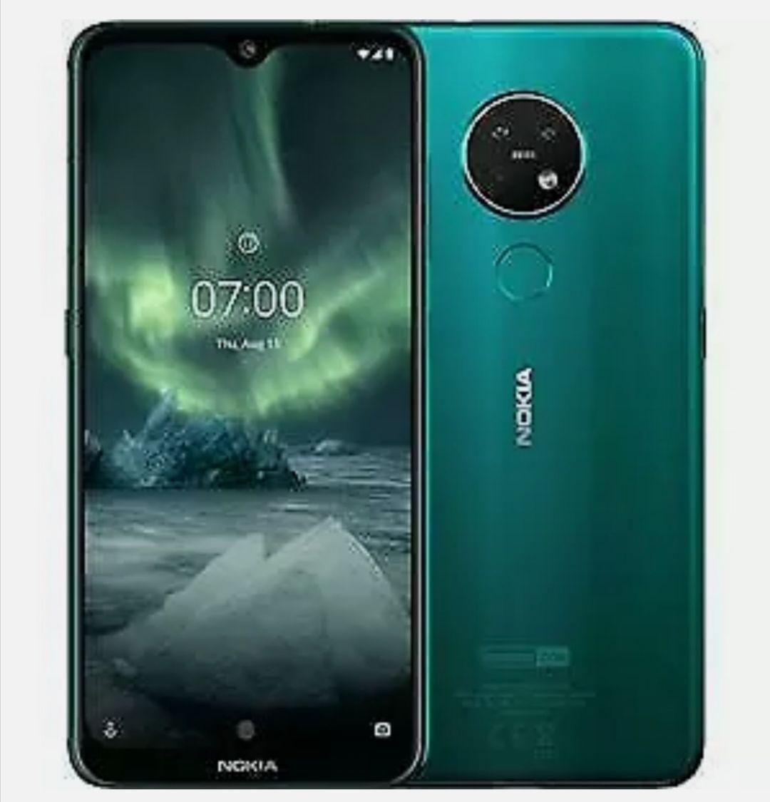 "New Nokia 7.2 Cyan Green 64GB 6.3"" LTE Dual Sim Smartphone - £169.99 With Code @ Technolec / Ebay"