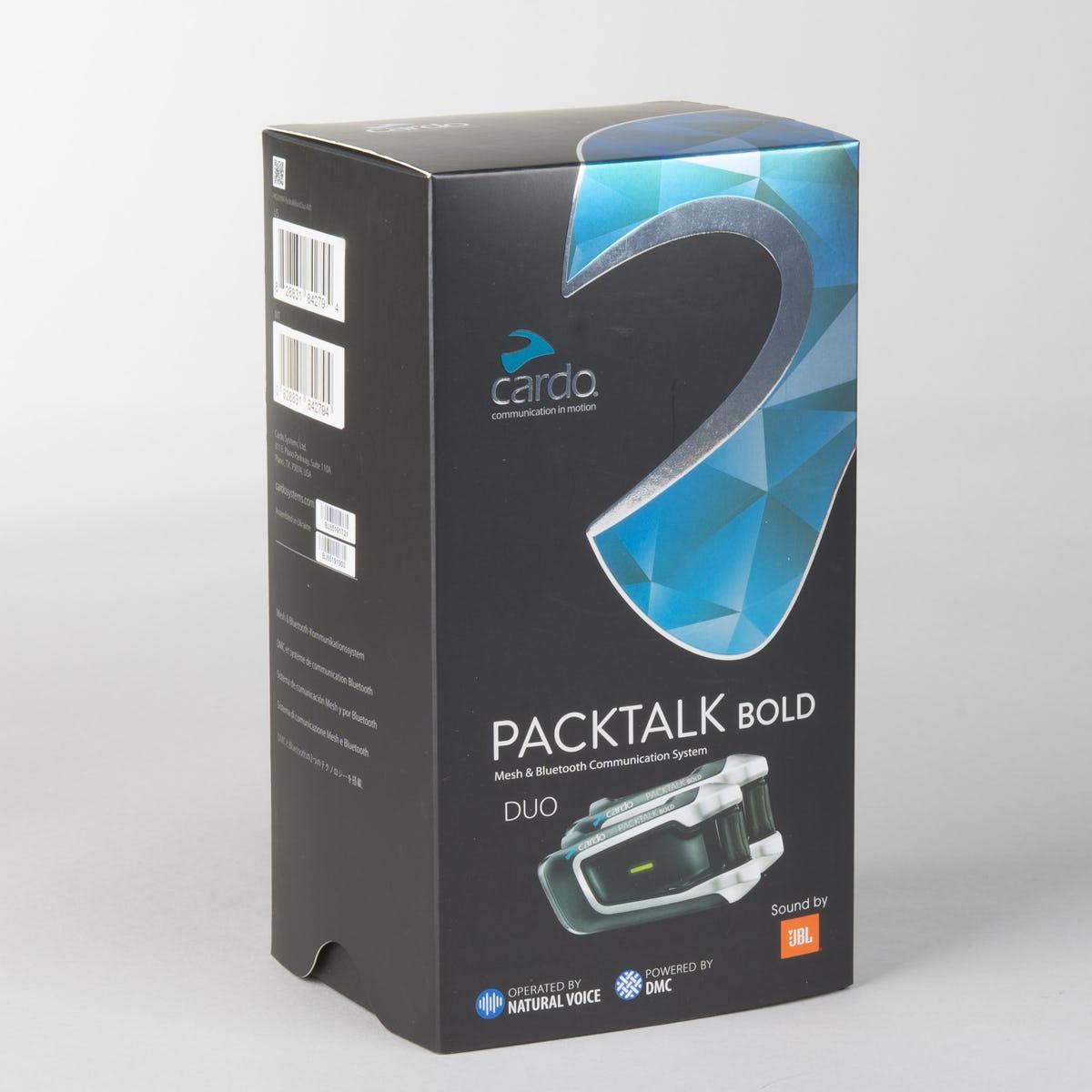 Cardo Packtalk Bold Duo / JBL Intercom £377.99 @ XL Moto