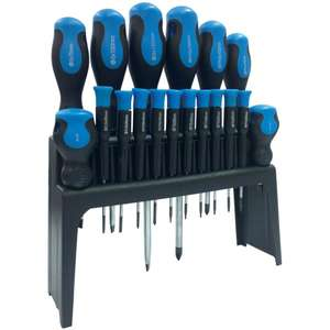 Streetwize 18 piece CV Screwdriver Set with Stand - £10.28 (+£3.95 Postage) @ CarPart4Less