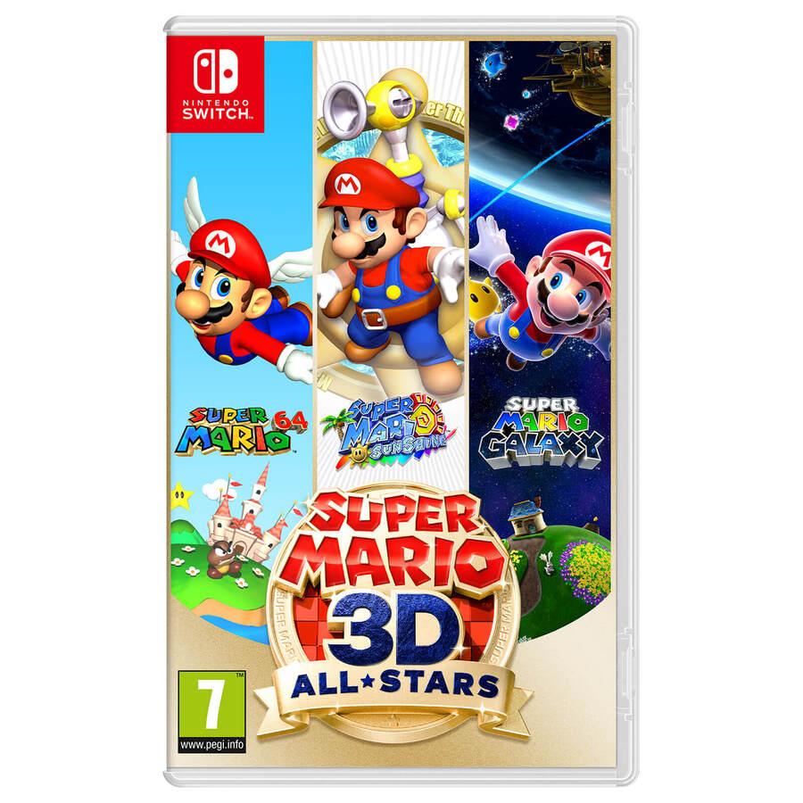 Super Mario 3D All Stars (Super Mario 64, Super Mario Sunshine & Super Mario Galaxy) Nintendo Switch Game £42.85 Delivered @ ShopTo
