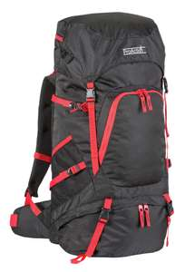 ProAction 65L Backpack - Black and Red for £14.99 @ Argos (free click and collect)