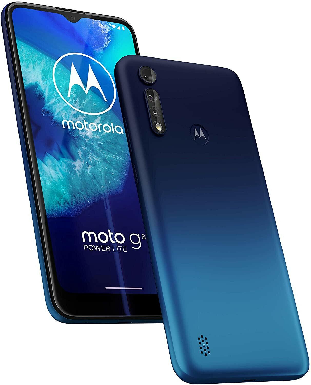 Motorola Moto G8 Power Lite Blue 64GB 5000mAh Android 9.0 Unlocked Sim Free - £126.64 delivered with code @ technolec_uk ebay