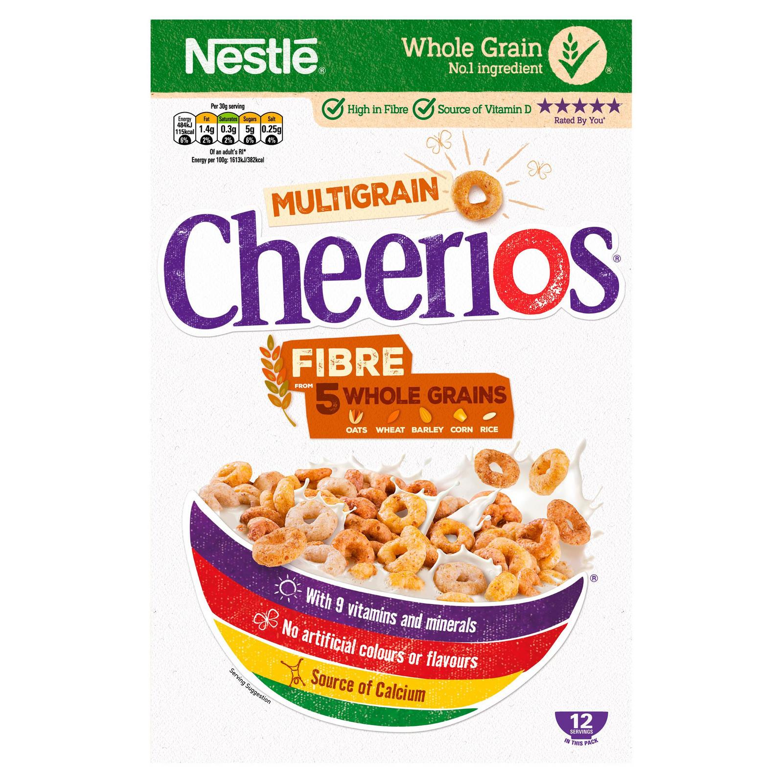 Nestle Multigrain Cheerios 375g - £1.27 @ Morrisons