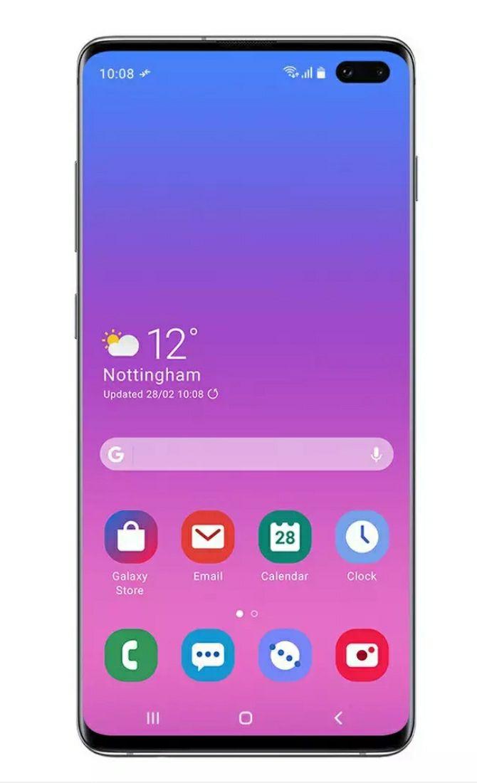 Samsung Galaxy S10+ (Black/Prism Green) 128GB £499 @ Argos (Free C&C)