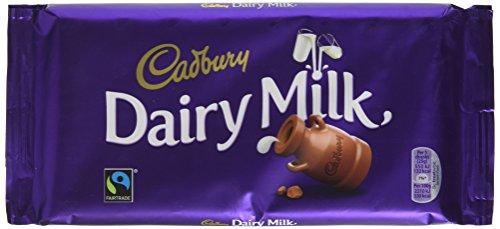 Cadbury Dairy Milk Chocolate Bar 200g £1.50 (+£4.49 Non-Prime) Delivered @ Amazon