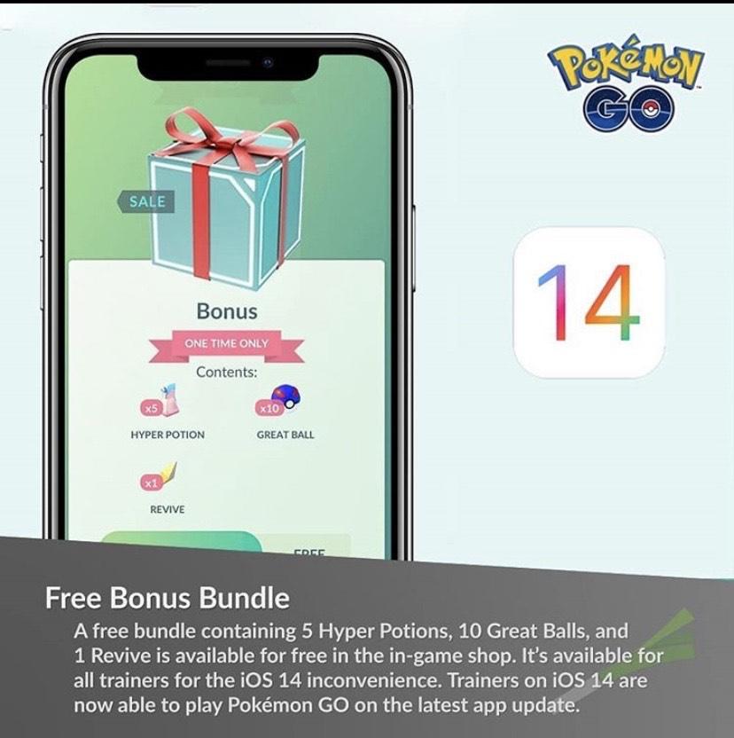 "Pokemon Go - FREE Bonus ""Great Box"""
