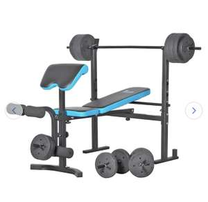Men's Health Folding Bench & Preacher with 50kg Weights (limited stock) £129.99 Argos