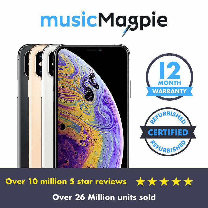Refurbished Apple iPhone XS 64GB - Unlocked SIM Free Smartphone £419.99 ebay / musicmagpie
