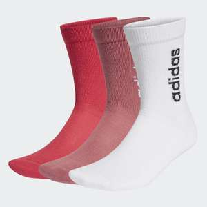 adidas Half-Cushioned Vertical Crew Socks 3 Pairs (2 sets to choose from) £5.66 delivered, using code @ adidas
