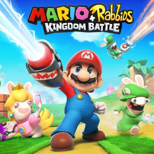 Mario + Rabbids Kingdom Battle [Nintendo Switch] £11.09 (£8.36 RU) @ Nintendo eShop