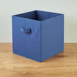 Morrisons Blue Fold Flat Storage Box £1.25 @ Morrisons