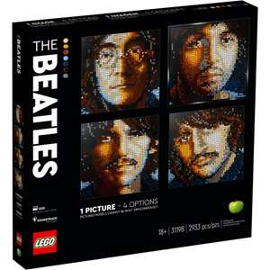 LEGO Art 31198 The Beatles £78.19 with code for My JL card holders @ John Lewis