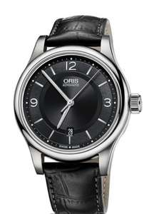 Oris Classic Date Automatic Watch - £584 using code delivered @ Chisholm Hunter