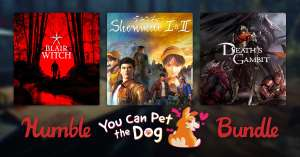 Humble You Can Pet the Dog Bundle (Shenmue 1&2 | BulbBoy | Blair Witch and more) 76p Onwards @ Humble Bundle
