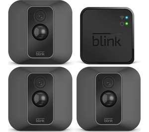 Blink XT2 Full HD 1080p WiFi Security System - 3 Cameras - £194.99 @ Currys PC World