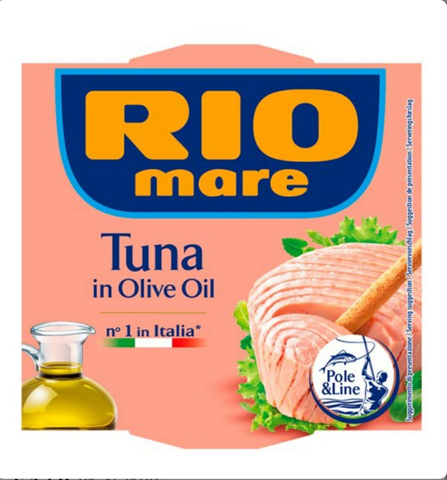 Rio Mare Tuna In Olive Oil 160G £1.50 @ Tesco