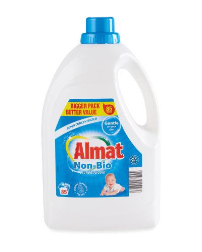 Almat Super Concentrated Laundry Liquid, Bio Or Non-Bio, 85 Washes, 3 Litres, £4.99 In Store @ Aldi