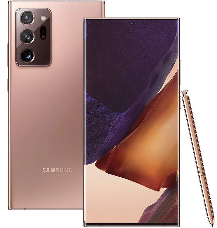 Samsung Galaxy Note 20 Ultra N986 5G 256GB 12GB RAM Dual SIM - Mystic Bronze or Black £903 at Wowcamera