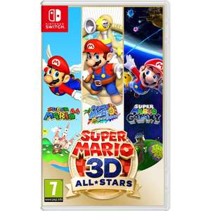 Nintendo Switch Super Mario 3D All-Stars £39.99 delivered with code @ Currys