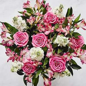 15% off Summer holiday Bouquet £25.49 Delivered with voucher code @ Serenata Flowers