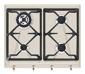 Smeg Gas hob with 4 Burners Stainless Steel Used: Very Good - £143.03 @ amazon warehouse