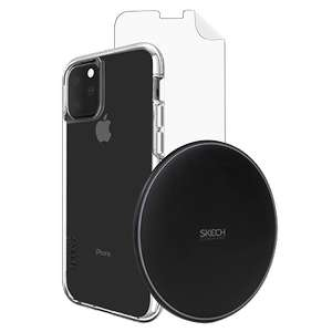 Apple IPhone 11 Pro Max Wireless Bundle - Includes Wireless Charger By Skech + Protective Case & Screen Protector - £19.99 Delivered @ O2