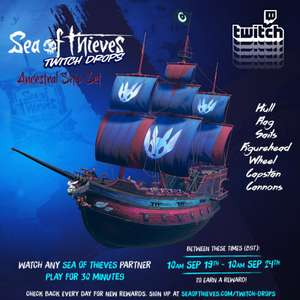 Sea of Thieves Ancestral Ship Set - Free with Twitch Drops