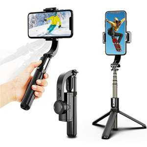 3-in-1 Handheld Bluetooth Tripod/Selfie Stick With 3-Axis Gimbal Stabiliser £24.99 @ MyMemory
