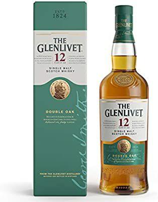 The Glenlivet 12 Year Old Single Malt Scotch Whisky 70cl (Double oak) £26 @ Amazon