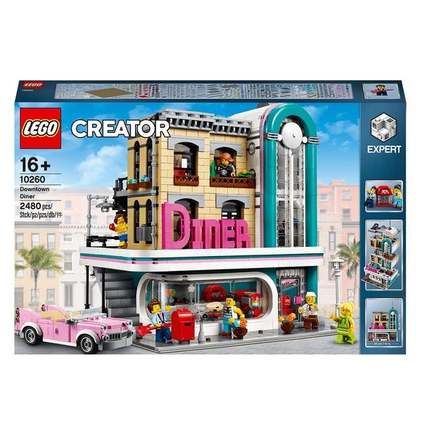 LEGO Creator Expert 10260 Downtown Diner Modular Model £129.99 @ Smyths Toys